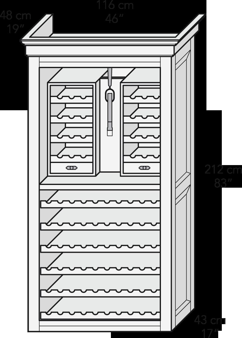 Mueble de vinos